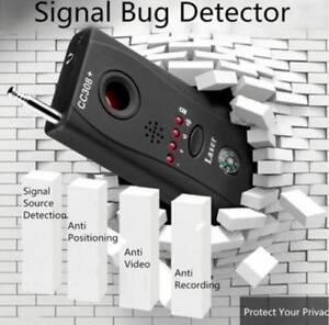 Signal Bug Detector Hidden Camera Video GPS Device Tracer