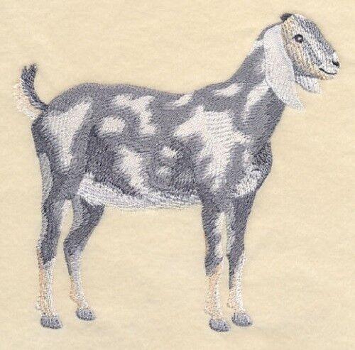 Embroidered Ladies Fleece Jacket - Nubian Goat #2 J7275 Sizes S - XXL