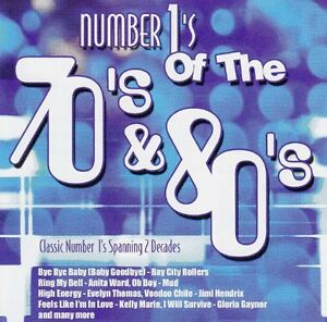 Various : Number 1 Hits Of The 70s & 80s CD