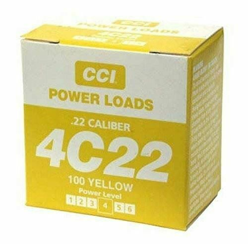 DT SYSTEMS 88117 DT SYSTEMS 88117 Medium Powerloads -Yellow (70-100 yards)