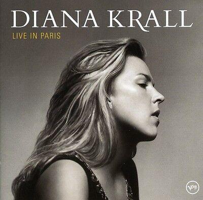 Diana Krall   Krall  Diana   Live In Paris  New Cd  Bonus Track