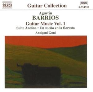 BARRIOS-MANGORE-Guitar-Music-Vol-1-CD-NEU