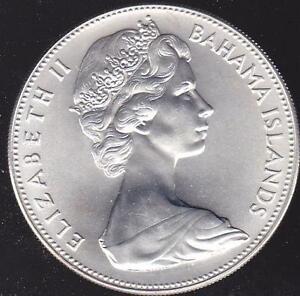 Bahamas 5 Dollar Coin