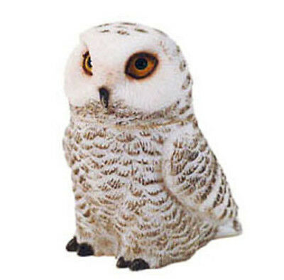 Harmony Ball Kingdom POT BELLYS Figurine SNOWY WHITE OWL BIRD Trinket Box Statue