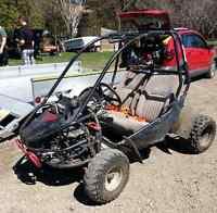 Double Offroad GoKart, with winch