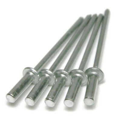 (POP Rivets Aluminum Closed End / Sealed (6-6) 3/16