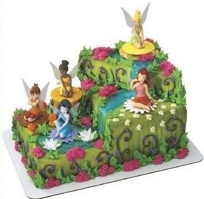 Sealed Decopac Cake Toppers 5 Disney Fairies Stamp Set Kit 11643 Tinkerbell More](Disney Princess Cake Kit)