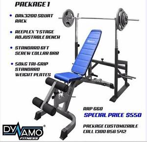 Squat Rack+ Weight Bench + Weights + Bars Packages ALL NEW Malaga Swan Area Preview
