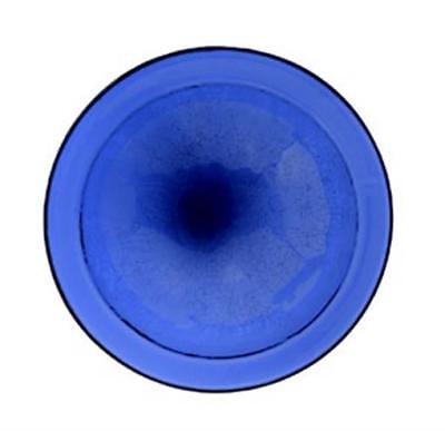 Achla CGB-01CB Crackle Bowl Bird Bath - Cobalt Blue