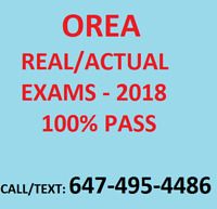 OREA EXAM & NOTES -DO NOT WASTE TIME READING THE BOOK. 100% PASS