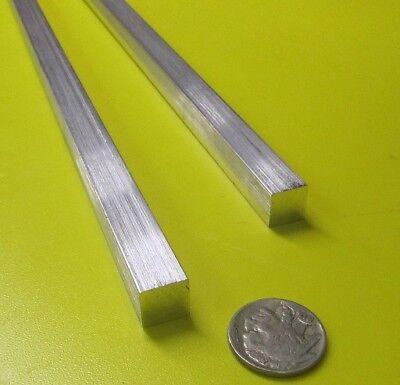 6061 T651 Aluminum Square Bar 716 Thick X 716 Wide X 36 Length 2 Units
