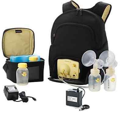 New Medela Backpack bag Travel Double Pump In Style Advanced + extras