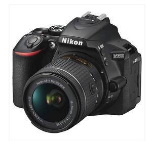 Nikon D5600 DSLR Camera 18-55mm Lens Kit - AU Stock Carlingford The Hills District Preview
