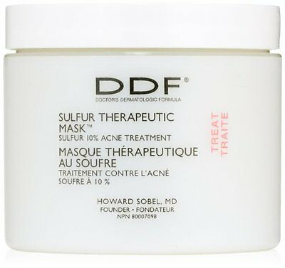 New sealed DDF Sulfur Therapeutic Mask Acne Treatment 4 Oz FAST FREE SHIPPING](Shipping & Handling)