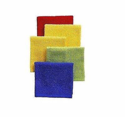 "2"" x 12"" Cotton Kitchen Bar Dish Towel Multi-Color Pack ~  New"