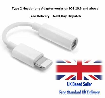 Apple Lightning to 3.5mm Headphone Jack Adapter for iPhone 7 8 PLUS X Xs
