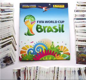 Panini FIFA World Cup Brazil 2014 Complete Set Album