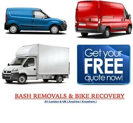 NATIONWIDE MAN & VAN HOUSE MOVING BIKE RECOVERY PIANO DELIVERY FLAT REMOVAL LUTON TRUCK CLEARANCE