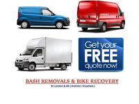 URGENT SHORT NOTICE NATIONWIDE MAN&LUTON VAN HOUSE/OFFICE REMOVAL PIANO/COURIER/DUMP/RUBBISH