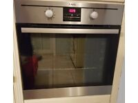 AEG BE3003001m Built-in Multifunction Electric Single Oven - good as new