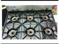 Commercial blue seal gas cooker