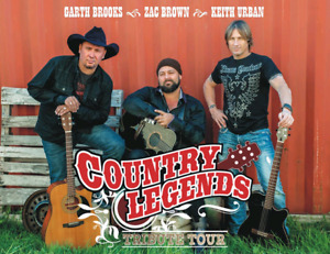 4 Tickets to Country Legends Tour - Acton August 16th