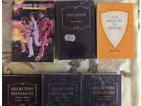 Religious Ellen G. White Books.