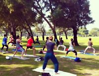 June Pilates in the Park session: REGISTRATION DEADLINE IS NOW!