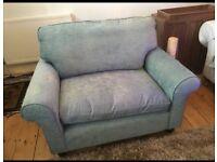 Laura Ashley snuggler cuddle sofa
