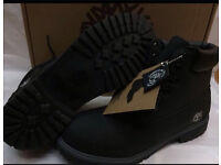 Men's Black Ankle Boots Brand New