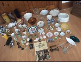 Selection of vintage goods
