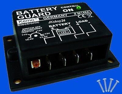 NEU Batterie Tiefentladeschutz Akkusaver 12V/DC battery-safer autom. Abschaltung