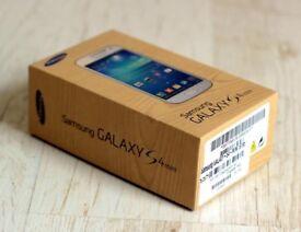 UNLOCKED BRAND NEW BOXED SAMSUNG GALAXY S4 MINI