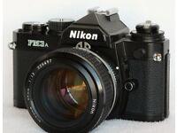 Nikon FM3A + 50mm f1.8