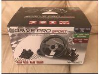Xbox one/ PS4/ PS3 steering wheel and pedals