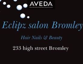 Experienced salon manager /senior stylist required for Bromley high st Aveda salon