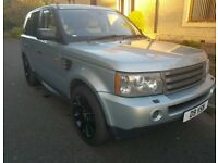 Range Rover sport 2.7 tdv6 HSE Full service/Mot may Px cash either way
