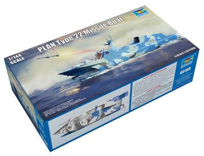 Trumpeter 9360108 PLA Navy Typ 022 Houbei Schnellboot 1:144 Modellbausatz