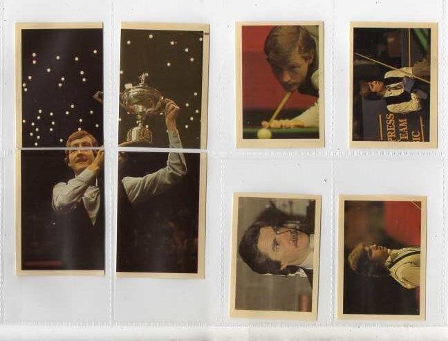 EMBASSY SNOOKER CHAMPIONSHIP  1984 BY ODESTOR ? 126 CARDS.    FULL SET IN VG