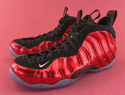 2017 Nike Air Foamposite One Metallic Red Size 9. 314996-610 Jordan Penny