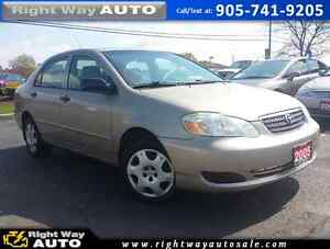 2005 Toyota Corolla CE | NEW TIRES | SAFETY & E-TESTED