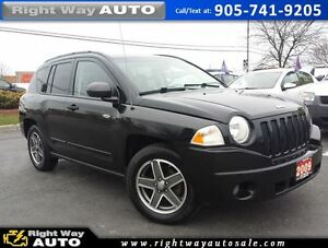 2009 Jeep Compass Sport | 4x4 | 185Km | SAFETY & E-TESTED