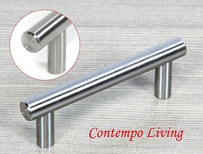 "4""Solid Stainless Steel Kitchen Cabinet Hardware Bar Pull Handle"