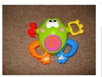 Fisher Price laugh and learn silly sounds frog