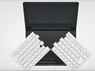 NEW! KINGJIM Portabook XMC10 Netbook - Slide Arc Keyboard - Japanese Windows 10