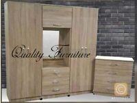 Wardrobes, Chest of drawers, Bedside tables, Dresser & TV Unit