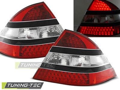 Mercedes Benz W220 S-Klasse LED Rückleuchten Heckleuchten Rot Schwarz Bj.98-05