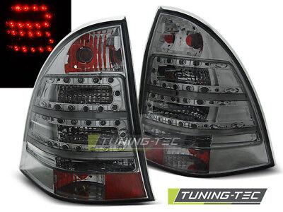 LED RÜCKLEUCHTEN FÜR  MERCEDES C-KLASSE W203 KOMBI 00-07 SMOKE LED