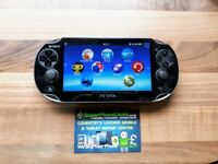 SONY PS VITA - WITH FIFA FOOTBALL AND 8GB MEMORY CARD