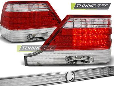 Mercedes Benz S-Klasse W140 LED Rückleuchten Heckleuchten Rot klar Bj.1995-1998